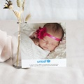 Remerciement Naissance UNICEF Ballerines Fleuries pas cher