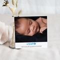 Carte Remerciement Naissance UNICEF Dentelle Douce pas cher