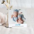 Remerciement Naissance UNICEF - Cigognes, livraison Jumeaux 46352 thumb