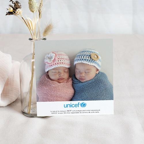 Remerciement Naissance UNICEF - Passeport Jumeaux 46361 thumb