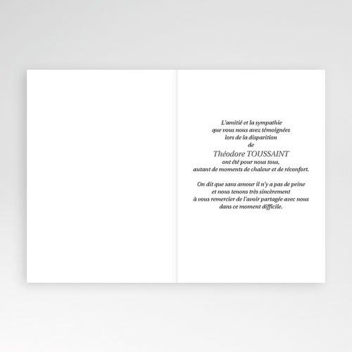 Remerciements Décès Universel - Paix éternelle 4637 thumb