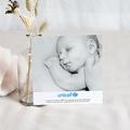 Remerciement Naissance UNICEF - Coeur Bleu 46397 thumb
