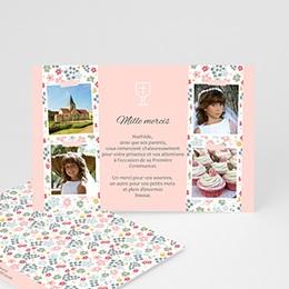 Remerciements Communion Fille - Floralies - 0