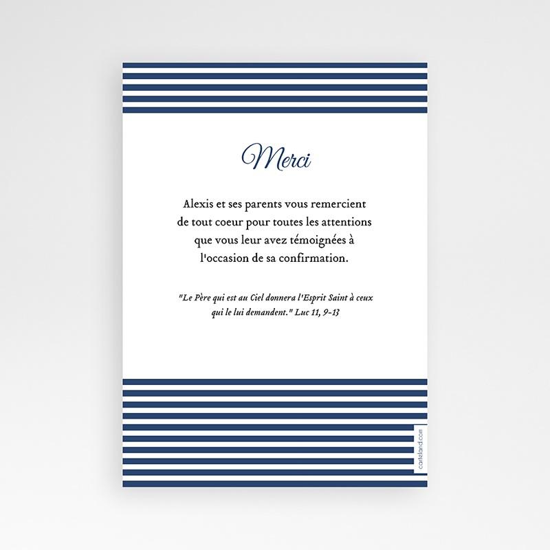 Carte remerciement confirmation - Confiance, merci 46546 thumb