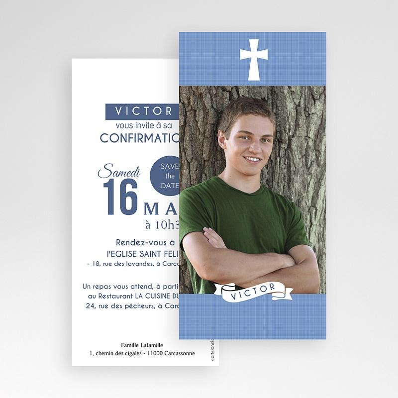 Invitation Confirmation  - Souffle de l'Esprit bleu 46681 thumb