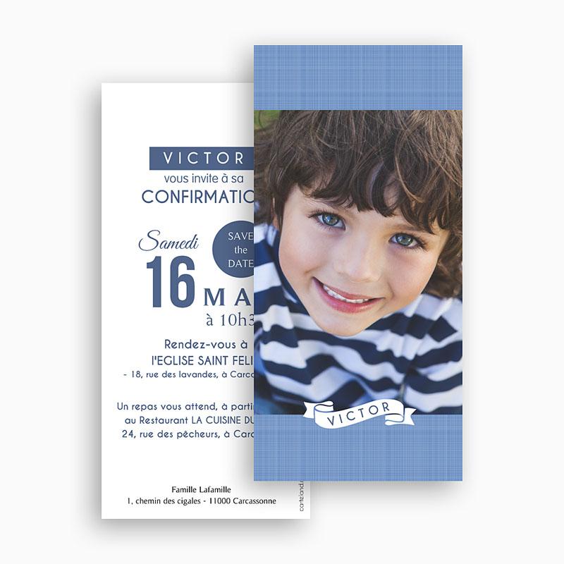 Invitation Confirmation  - Souffle de l'Esprit bleu 46682 thumb