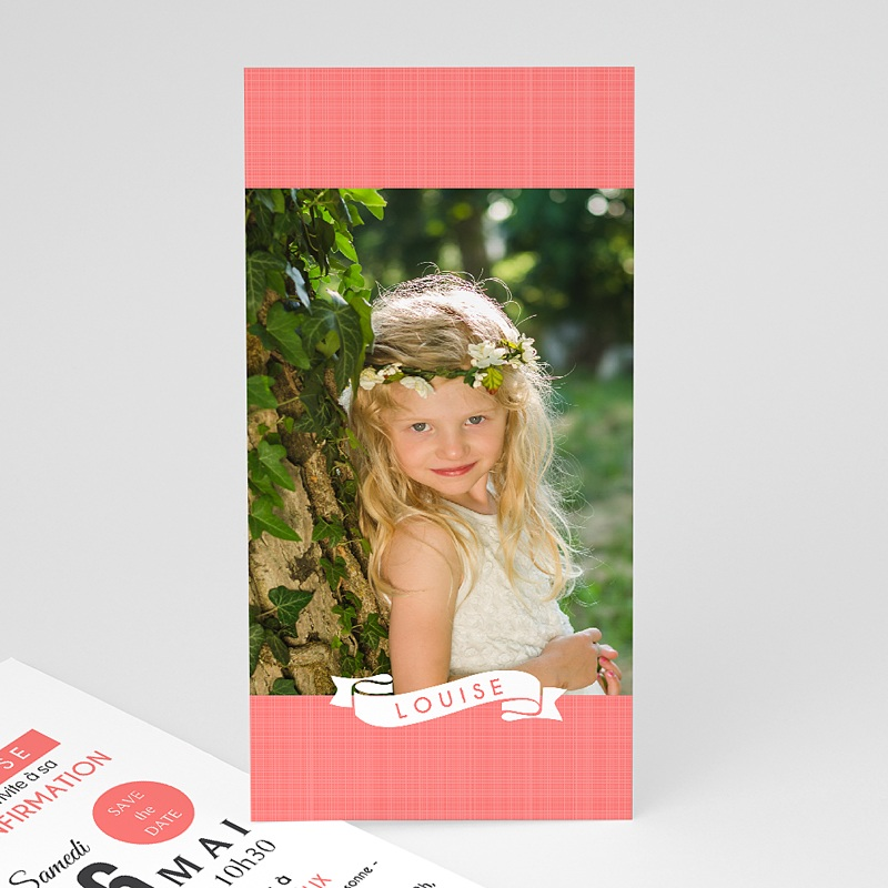 Invitation Confirmation  - Souffle de l'Esprit Rose 46689 thumb