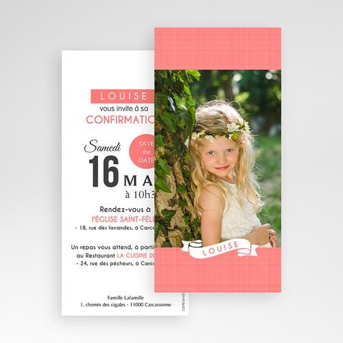Invitation Confirmation  - Souffle de l'Esprit Rose 46690 preview