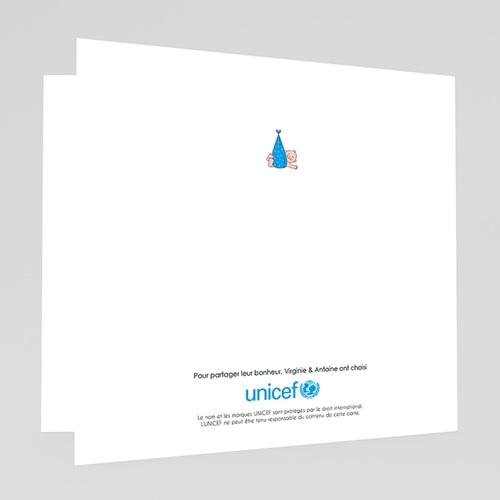 Faire-Part Naissance Garçon UNICEF - Cigogne Express 46698 thumb