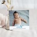 Carte Remerciement Naissance UNICEF Cigogne Express pas cher