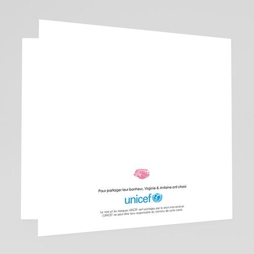 Faire-Part Naissance Fille UNICEF L'été poudré gratuit