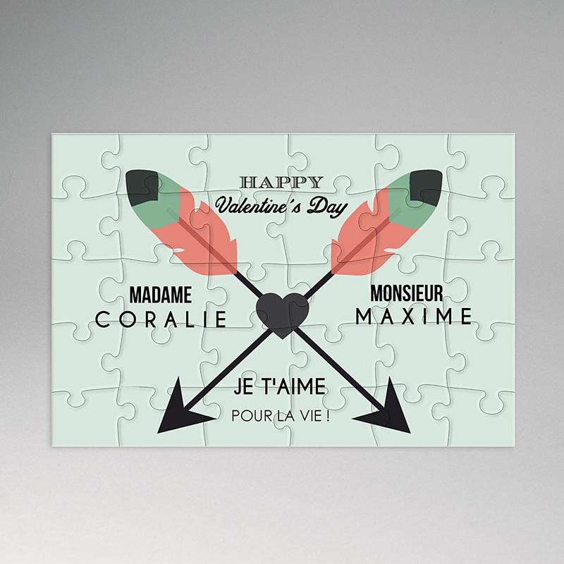 Puzzle Personnalisé Photo Casse-tête d'amour