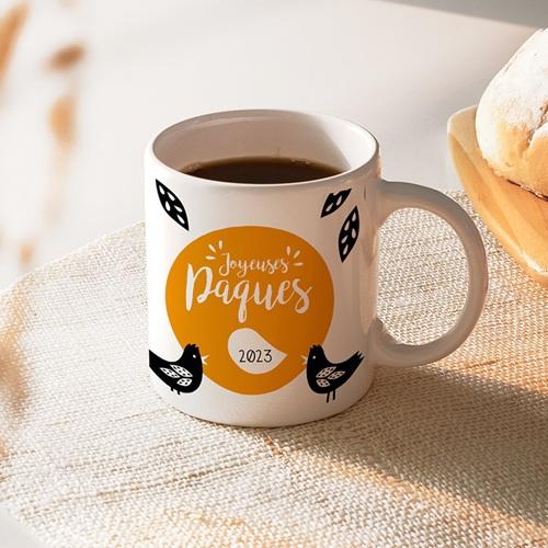 Mug Personnalisé - Vive pâques 46761 thumb