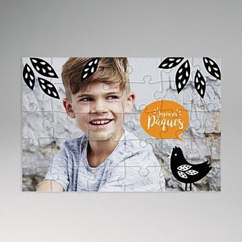 Créer soi même puzzle personnalisé puzzle pâques
