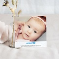 Remerciement Naissance UNICEF - Chouette Rose 46797 thumb