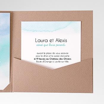 Carte d'invitation aquae sextiae personnalisé