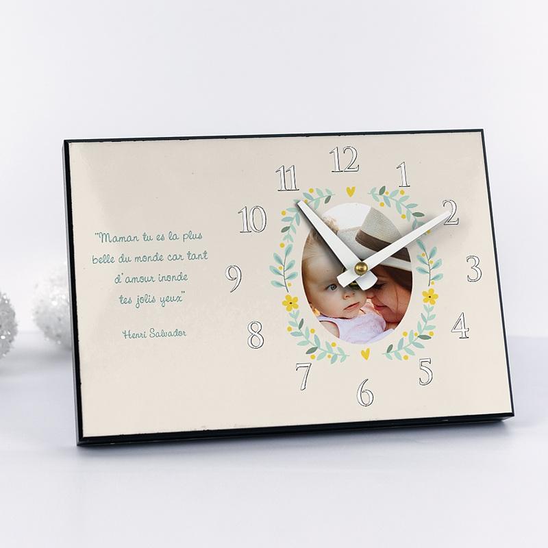 Horloge Personnalisée Photo Timeless Love