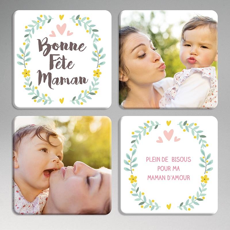 Dessous de Verre Personnalisé Photo Best Mum Ever
