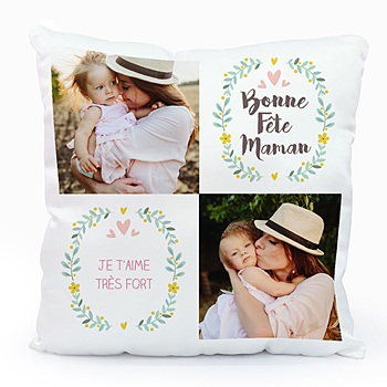 Coussin sweet love personnalisable