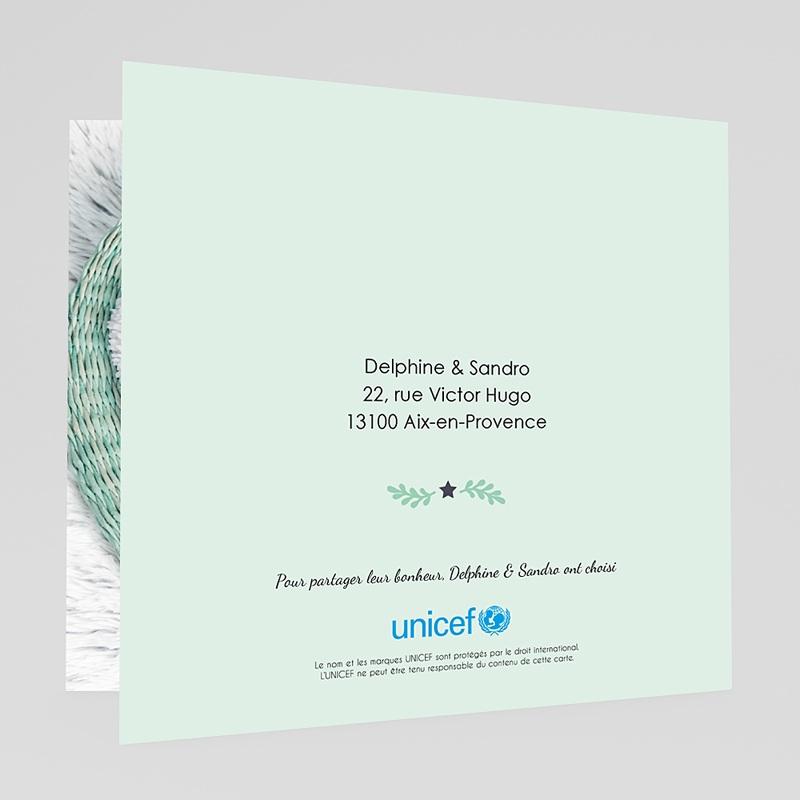 Faire-Part Naissance Garçon UNICEF Couronne étoilée gratuit