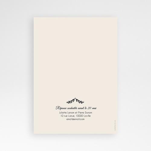 Faire-Part Mariage Personnalisés - Pailleté 47339 preview