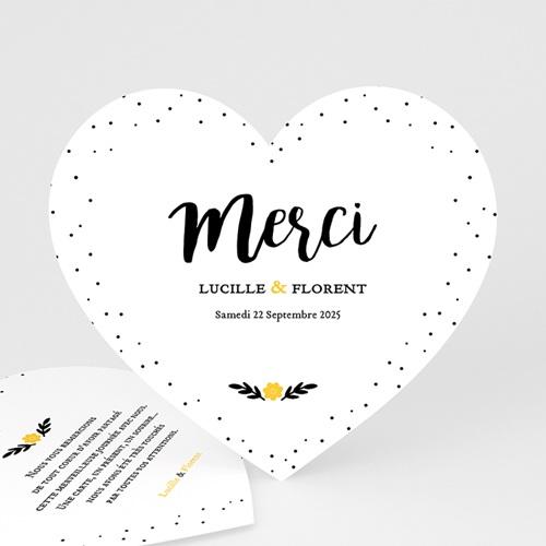 Tous les Remerciements Mariage - Mercy 47361