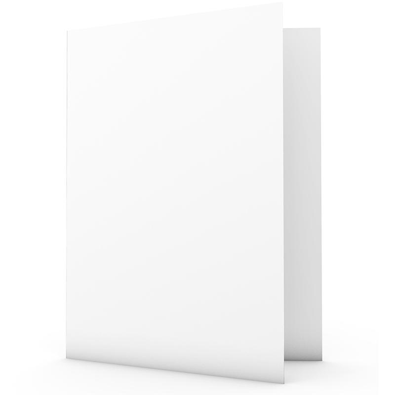 Faire-Part Naissance Vierge rectangle double vertical 10.5 cm x 15 cm à personnaliser