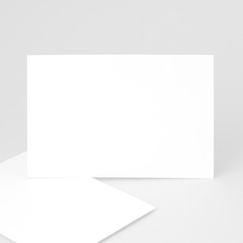 Faire-Part Naissance Vierge - rectangle horizontal 15 cm x 10 cm à personnaliser 47438