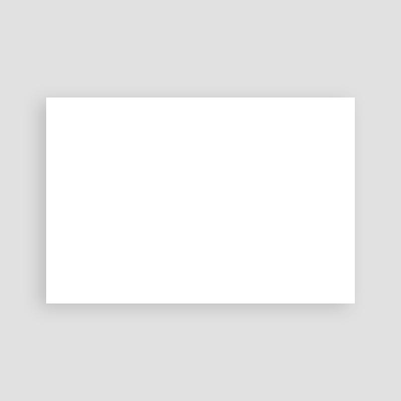 Faire-Part Naissance Vierge rectangle horizontal 15 cm x 10 cm à personnaliser pas cher