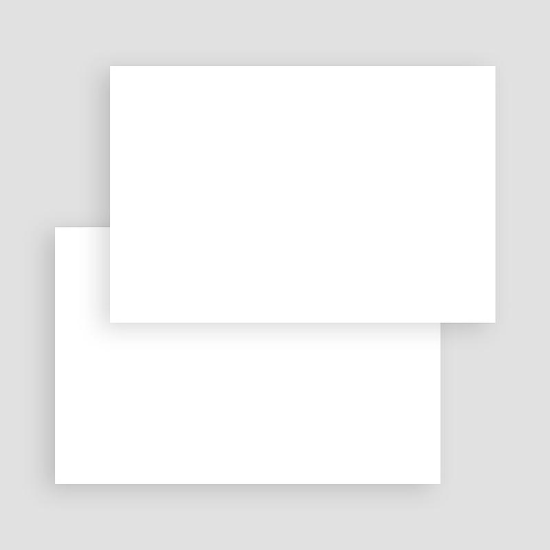 Faire-Part Naissance Vierge rectangle horizontal 15 cm x 10 cm à personnaliser gratuit
