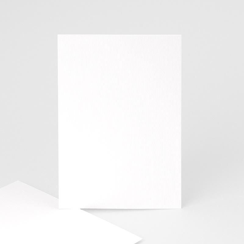 Faire-Part Naissance Vierge rectangle vertical 10 cm x 15 cm à personnaliser
