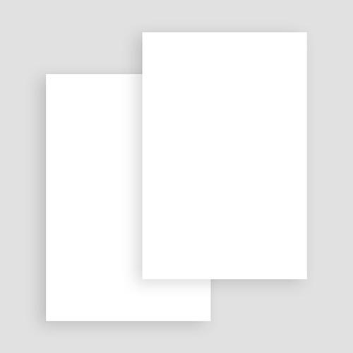 Faire-Part Naissance Vierge rectangle vertical 10 cm x 15 cm à personnaliser gratuit