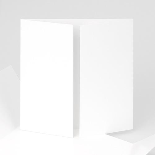 Faire-Part Naissance Vierge - carré deux volets 15 cm x 14.5 cm à personnaliser 47456