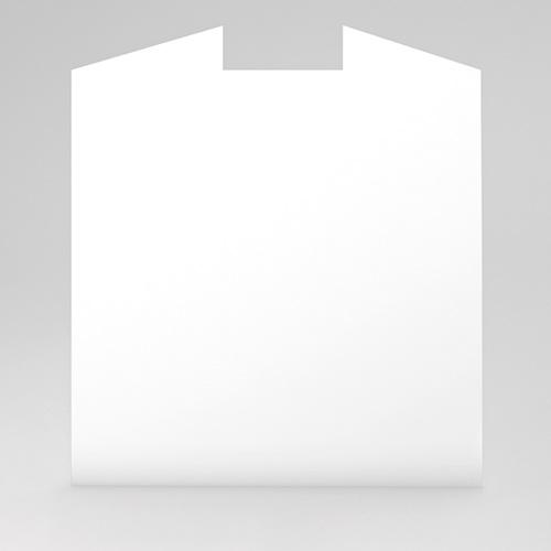 Faire-Part Naissance Vierge - carré deux volets 15 cm x 14.5 cm à personnaliser 47458 preview