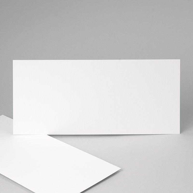 Faire-Part Naissance Vierge rectangle horizontal 21 cm x 10 cm à personnaliser