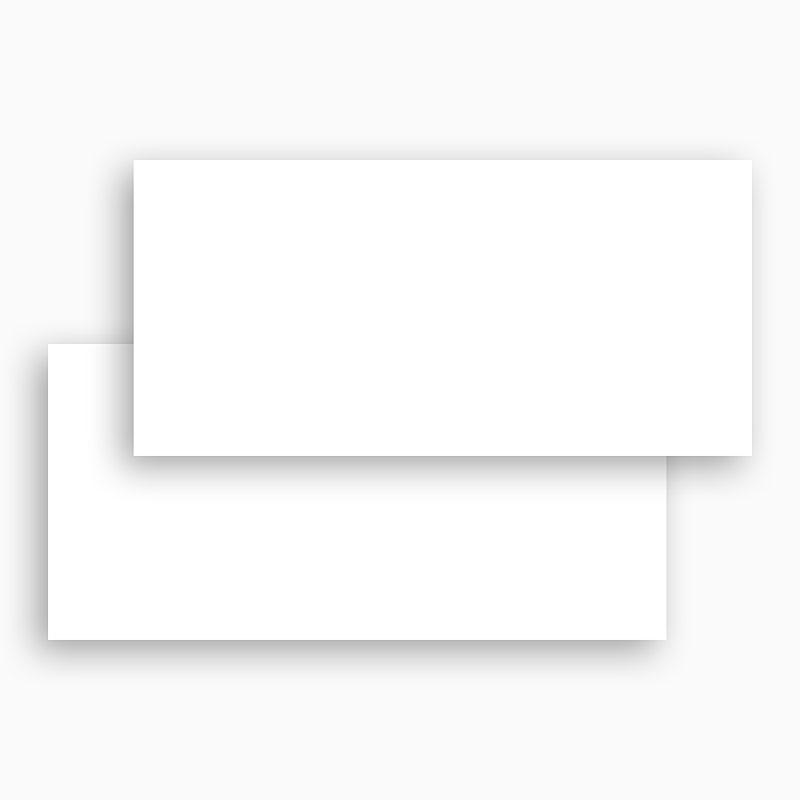 Faire-Part Naissance Vierge rectangle horizontal 21 cm x 10 cm à personnaliser gratuit
