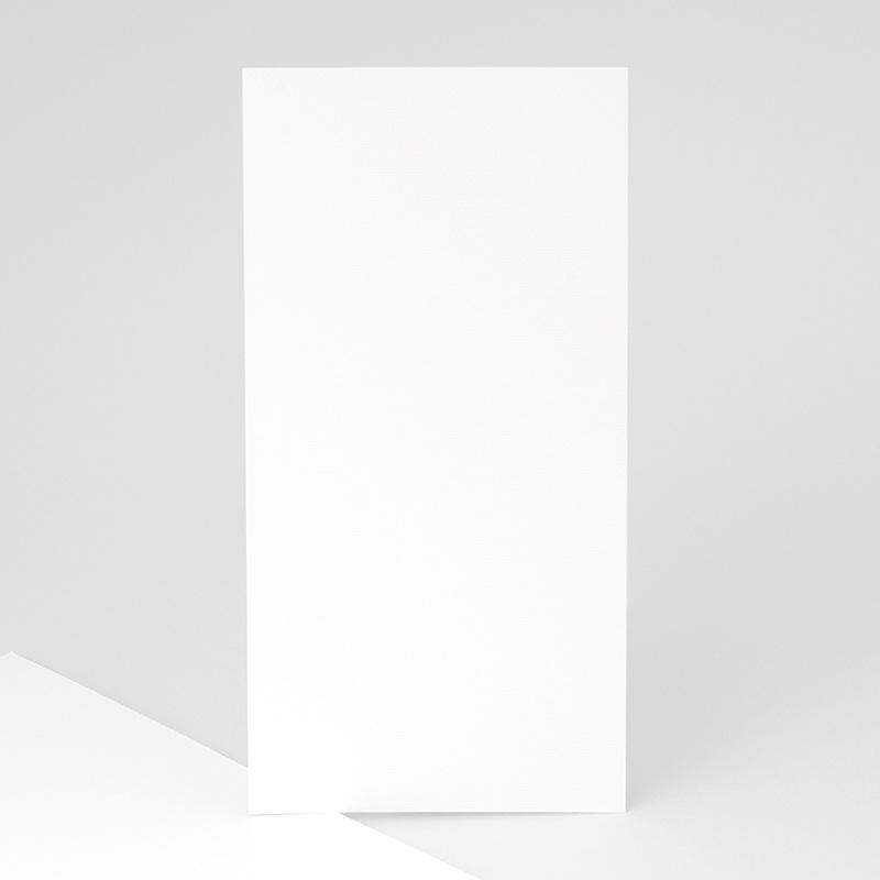 Faire-Part Naissance Vierge rectangle vertical 10 cm x 21 cm à personnaliser