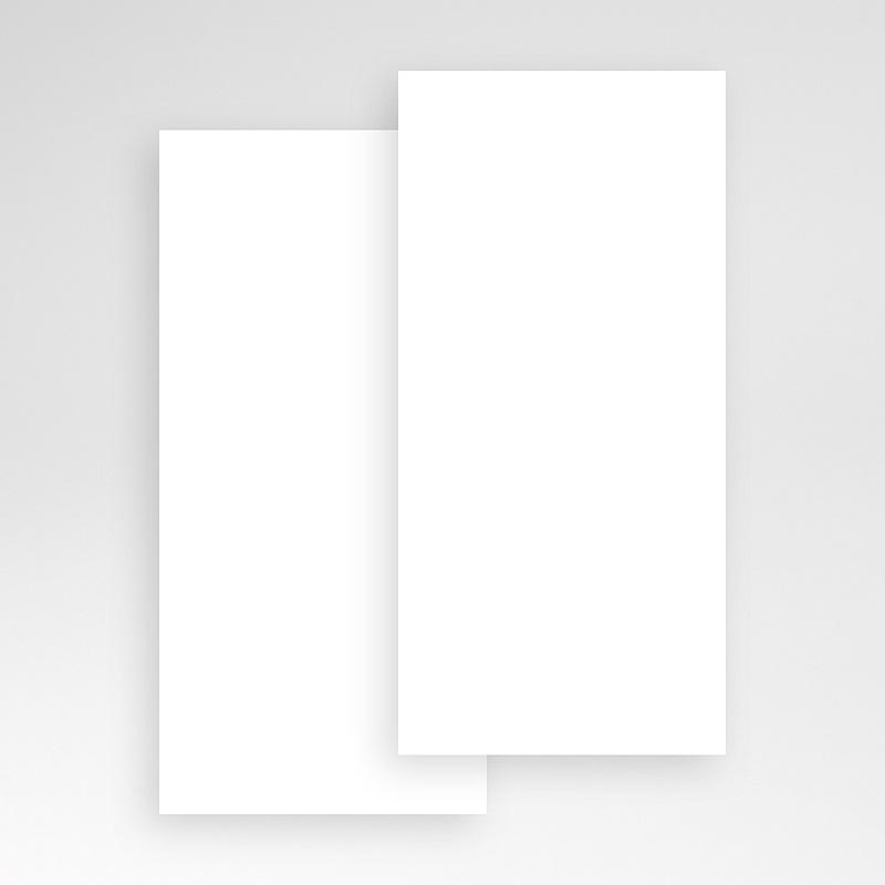 Faire-Part Naissance Vierge rectangle vertical 10 cm x 21 cm à personnaliser pas cher