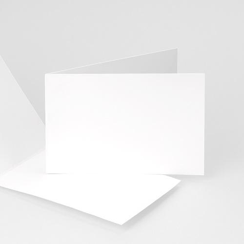 Faire-Part Naissance Vierge - rectangle double horizontal 10 cm x 15 cm à personnaliser 47492