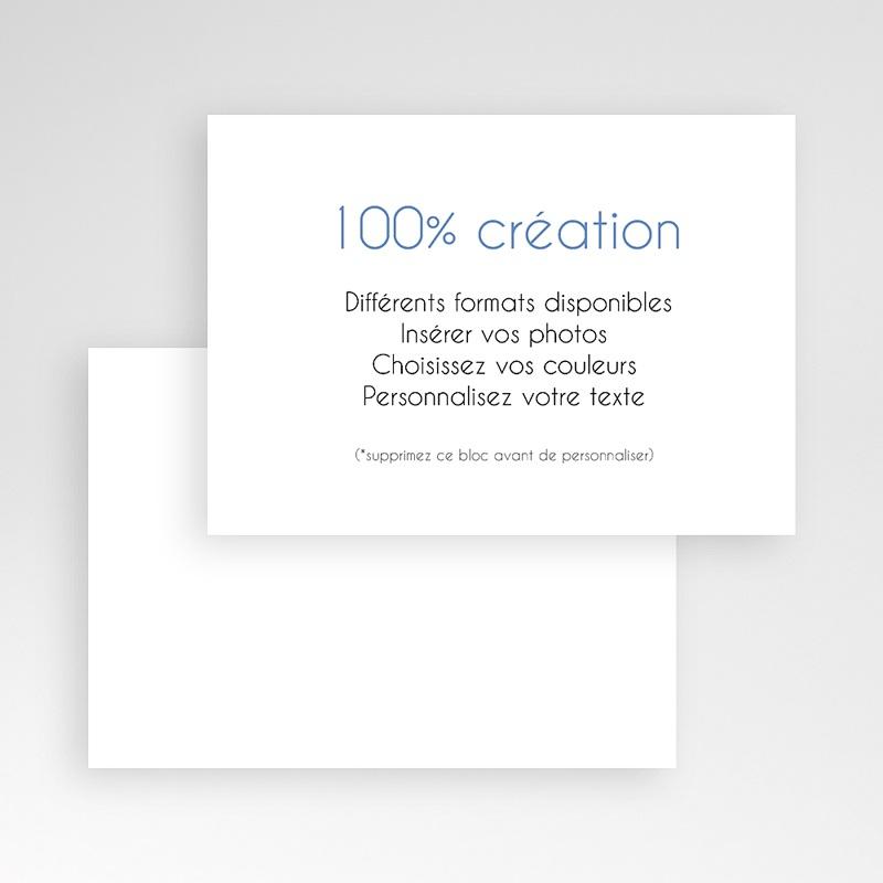 Carte Remerciement Naissance Vierge 100% Création pas cher
