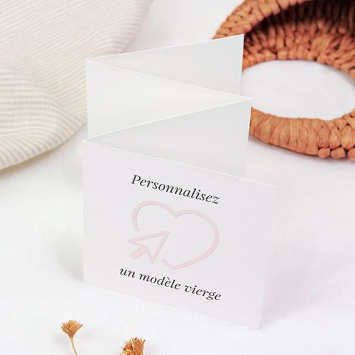 Faire-Part Mariage Personnalisés - Vierge 47582