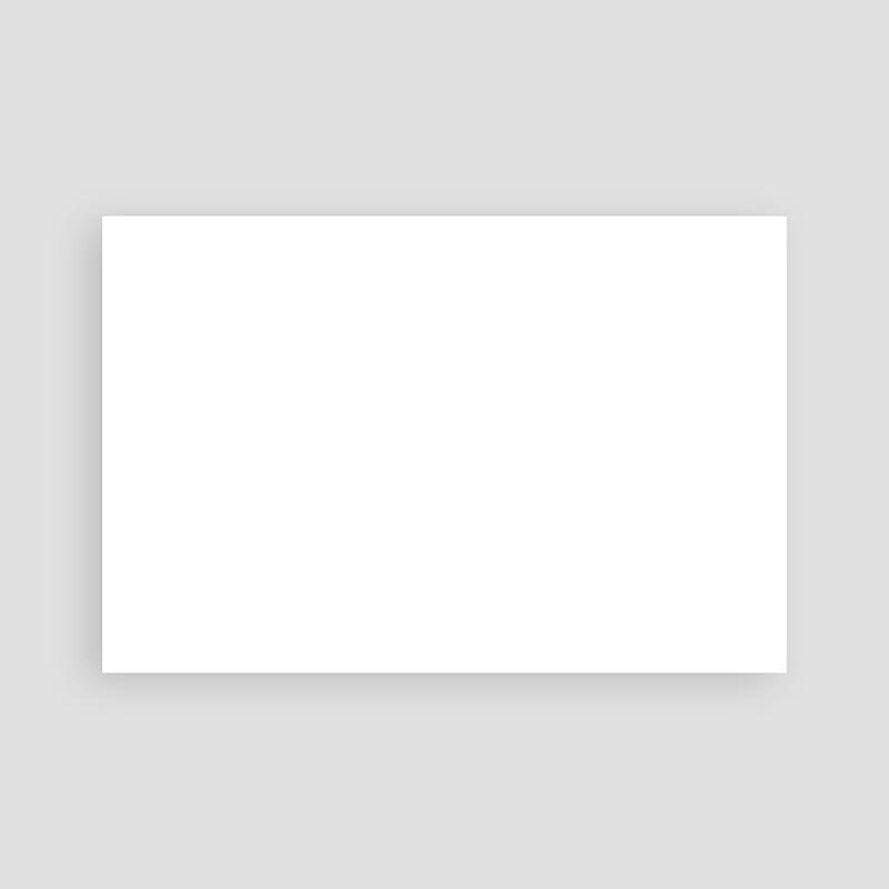 Faire-Part Mariage Vierge rectangle horizontal 15 cm x 10 cm à personnaliser pas cher