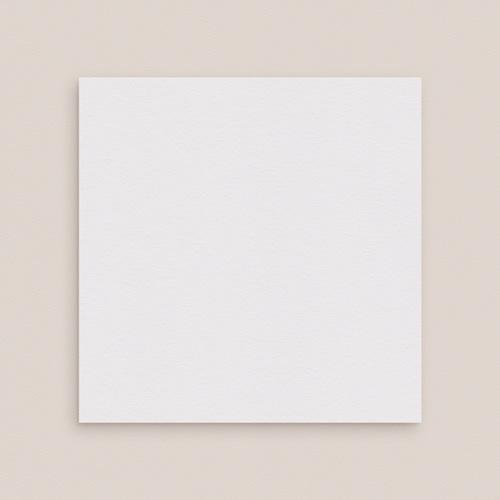 Faire-Part Mariage Vierge - carré deux volets 15 cm x 14.5 cm à personnaliser 47656 preview