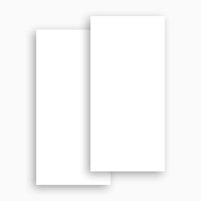 Faire-Part Mariage Vierge rectangle vertical 10 cm x 21 cm à personnaliser gratuit