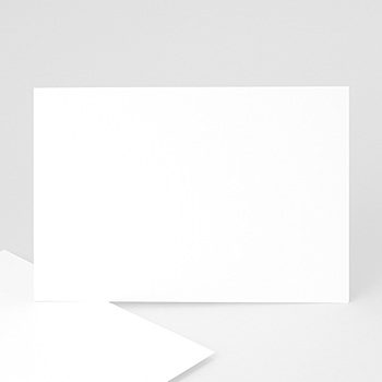 Achat remerciements mariage vierge rectangle - 06271-rn1-rv