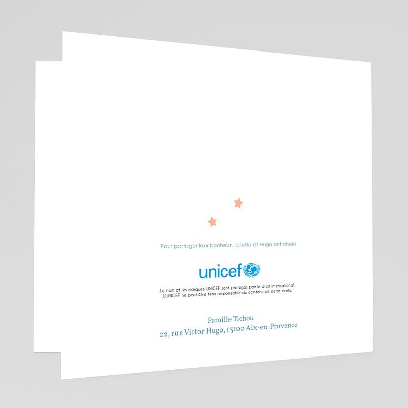 Faire-Part Naissance Fille UNICEF Farandole fillettes gratuit