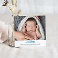 Remerciement Naissance UNICEF Farandole Garçon pas cher