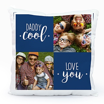 Achat coussin personnalisé daddy cool