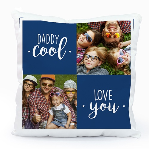 Coussin personnalisé Daddy Cool