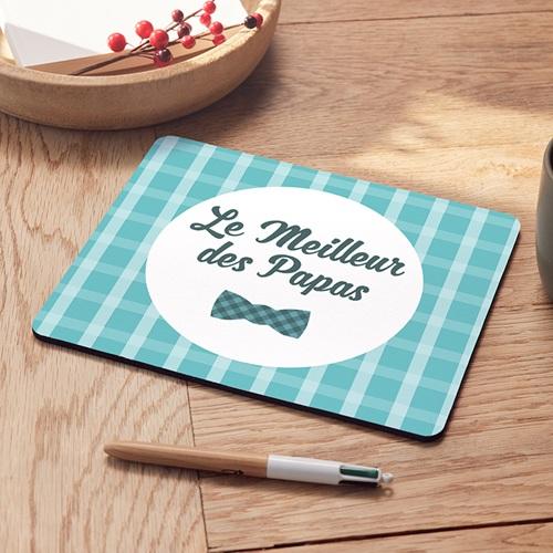 Tapis de souris personnalisé - Noeud à Carreaux 47885